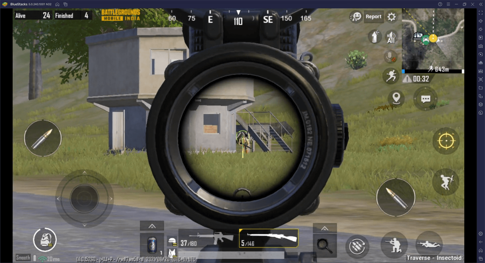 Battlegrounds Mobile India – Smart Controls Coming to BGMI with Latest BlueStacks 5 Update