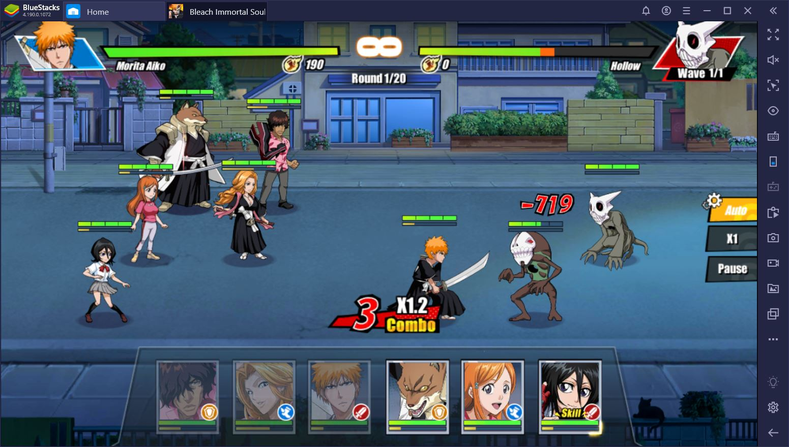 Bleach: Immortal Soul on PC – Team Formation Guide