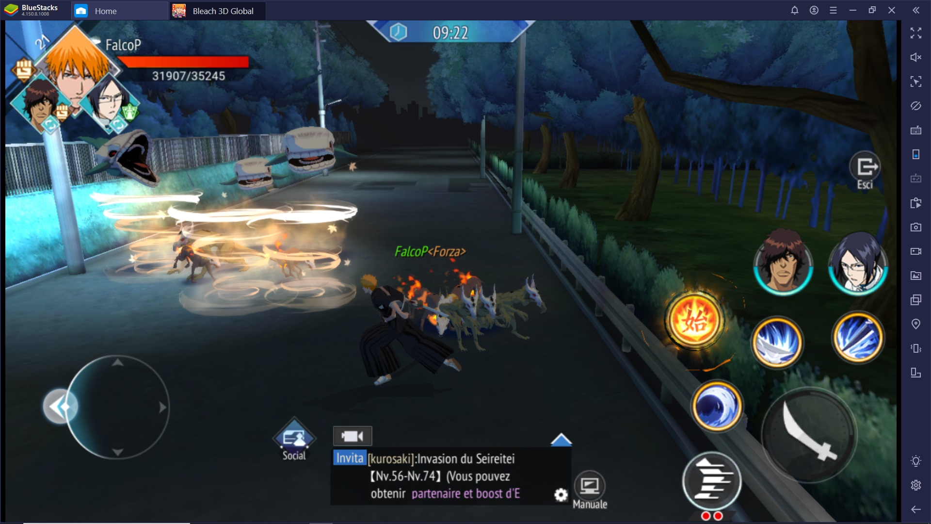 Come Combattere in BLEACH Mobile 3D
