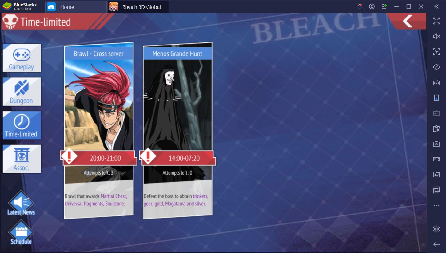 Bleach Mobile Game Modes Img 7