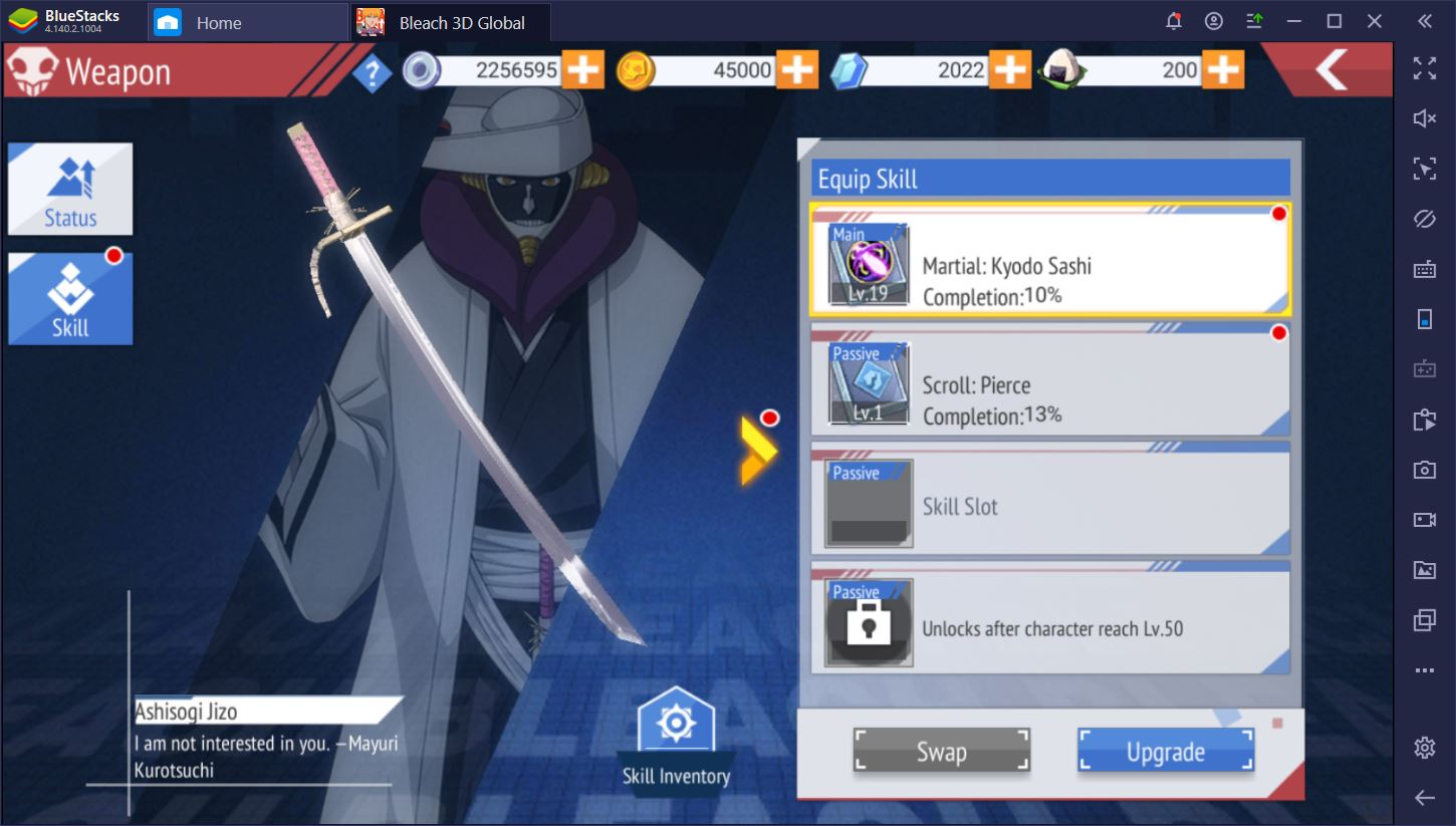 BLEACH Mobile 3D on PC: How to Upgrade Your Characters Quickly
