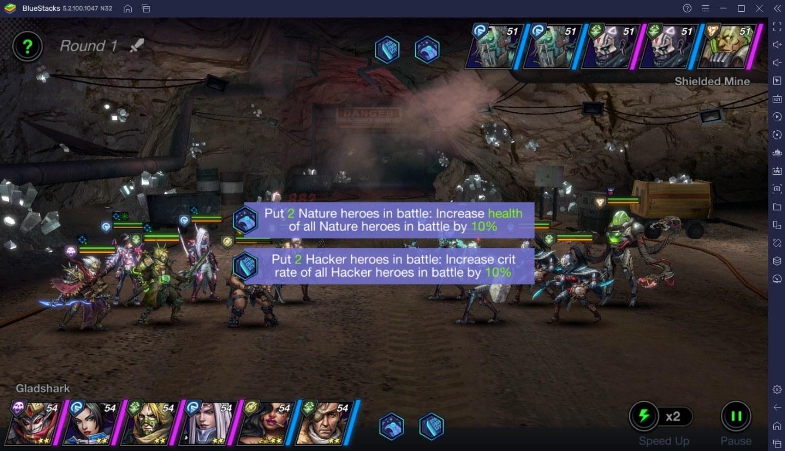 Battle Night: Cyberpunk Idle-RPG – ein ausführlicher Leitfaden zum Kampf
