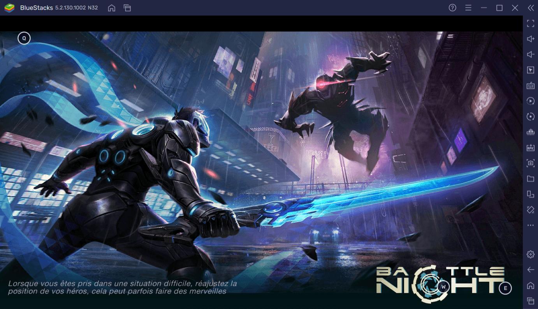 Le Guide du Débutant de BlueStacks pour Battle Night: Cyberpunk-Idle RPG