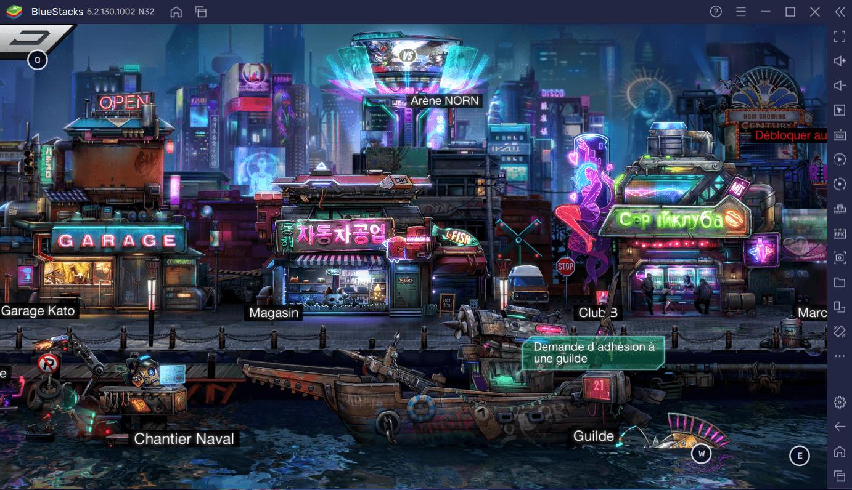 Comment Jouer à Battle Night: Cyberpunk-Idle RPG sur PC avec BlueStacks