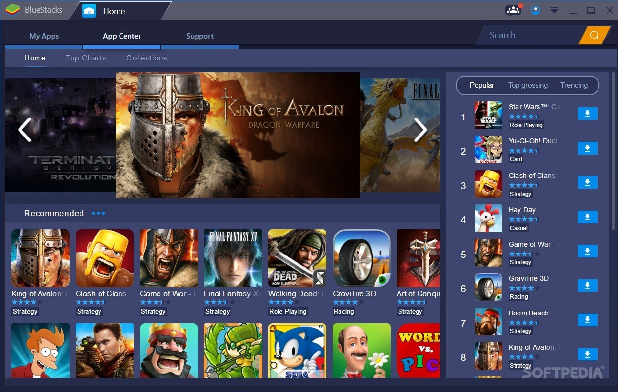 Bluestacks 1 Games