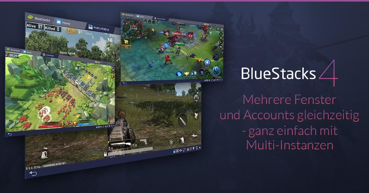 Der neue Instanz-Manager auf BlueStacks 4