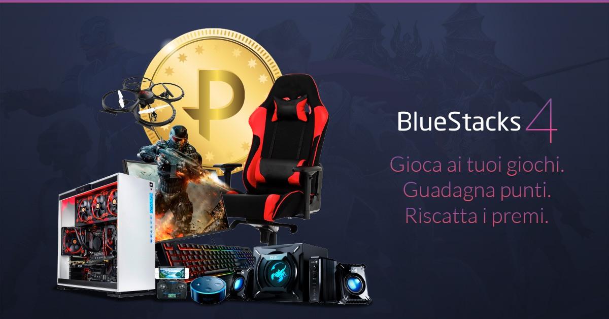 BlueStacks Points: come ottenere attrezzature Pro Gamer