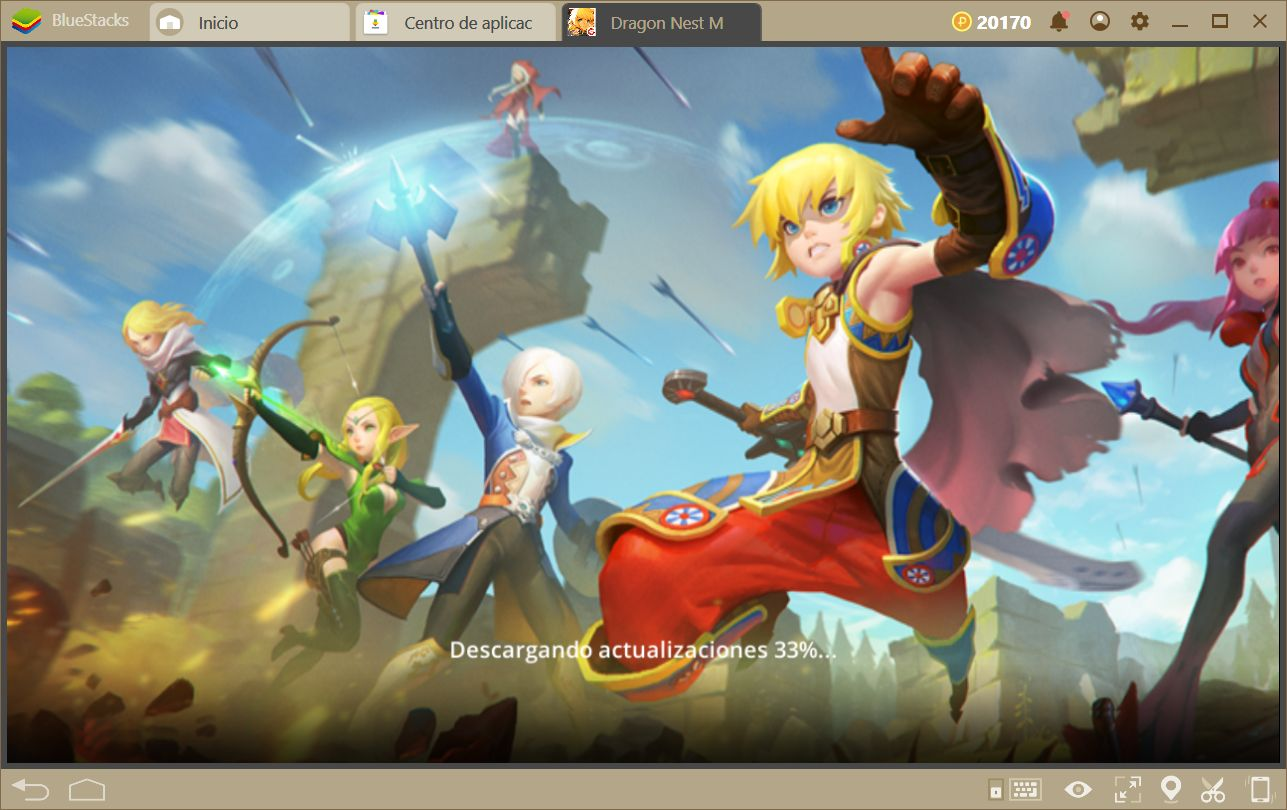 Dragon Nest en BlueStacks 4 Vs PC: ¿Cual es mejor y por que?