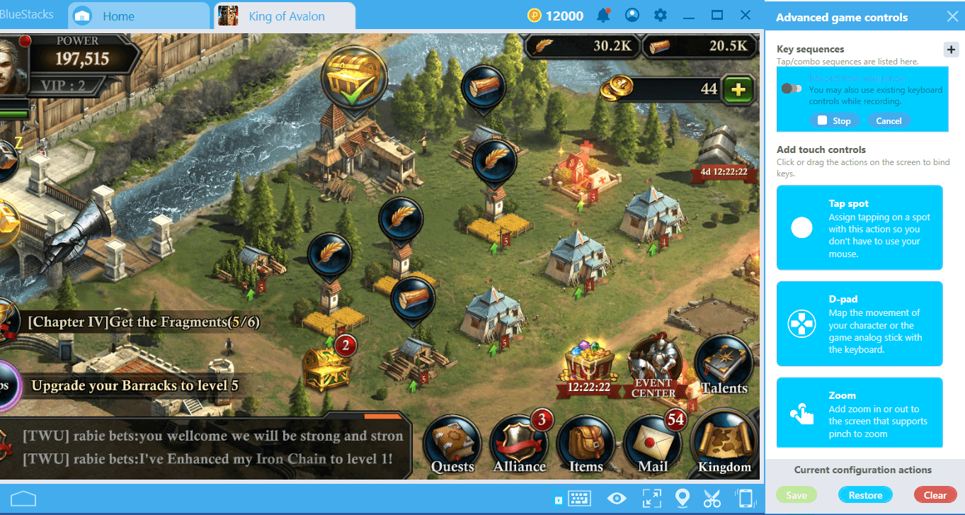Combo Key on BlueStacks 4 2: Record and Replay an Action with a
