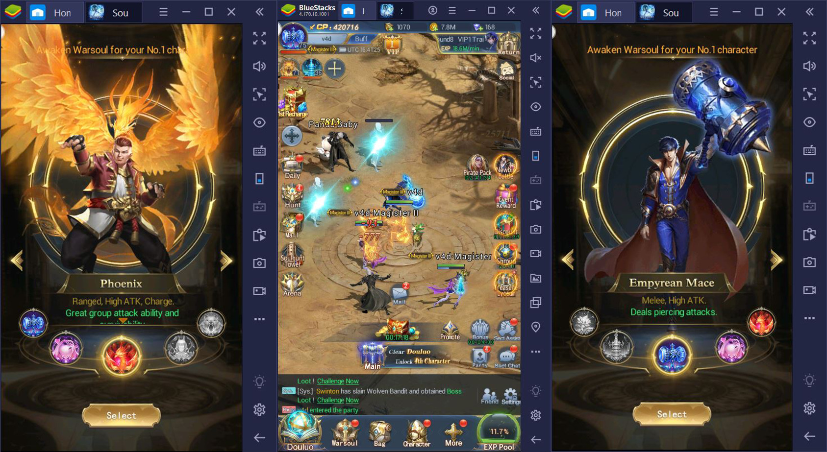 How to Play Soul Land: Awaken Warsoul on BlueStacks