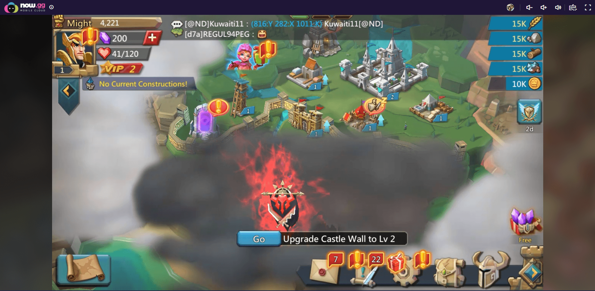 How to Play Lords Mobile on the Cloud with BlueStacks X