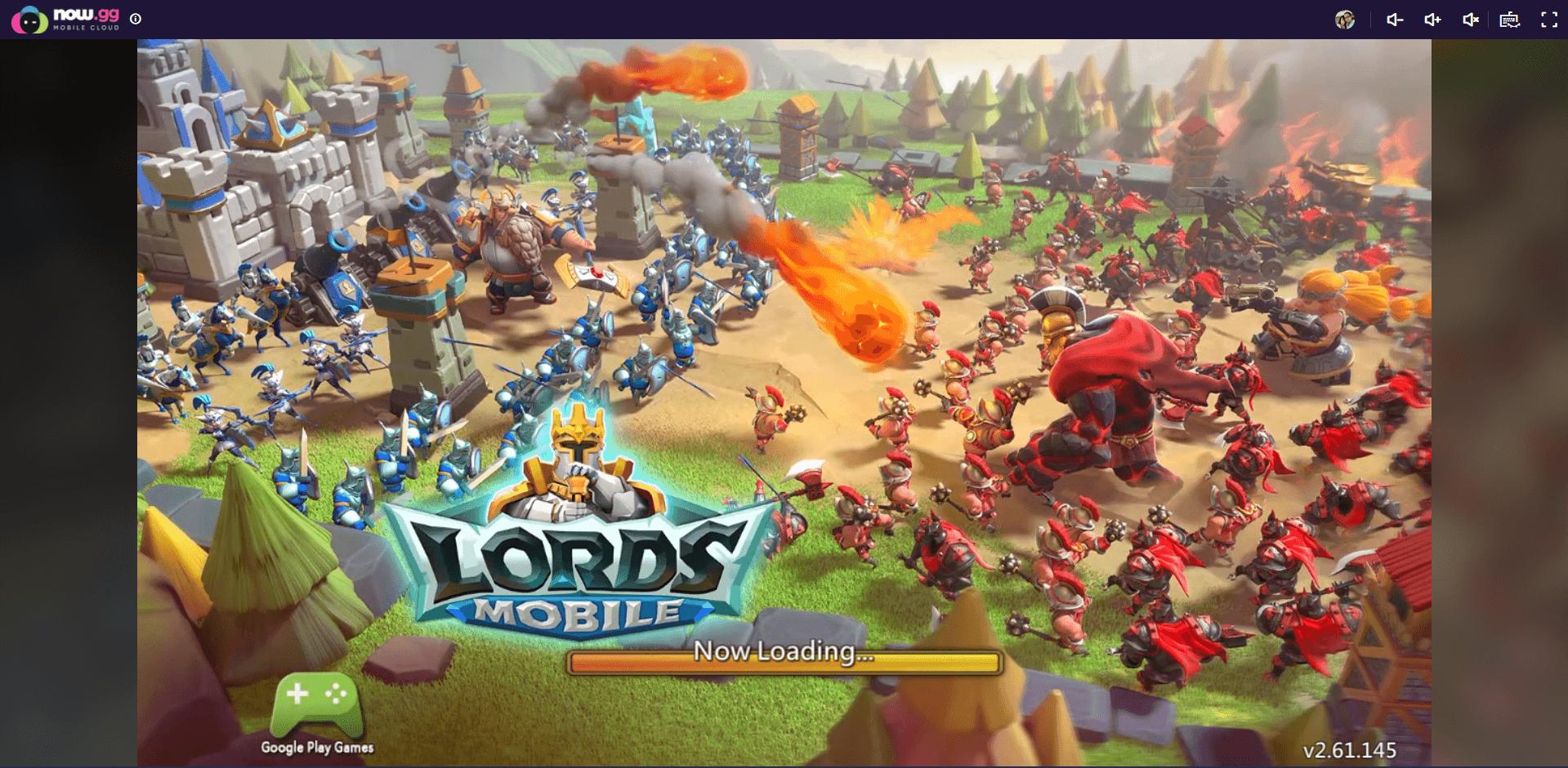 So spielst du Lords Mobile in der Cloud mit BlueStacks X