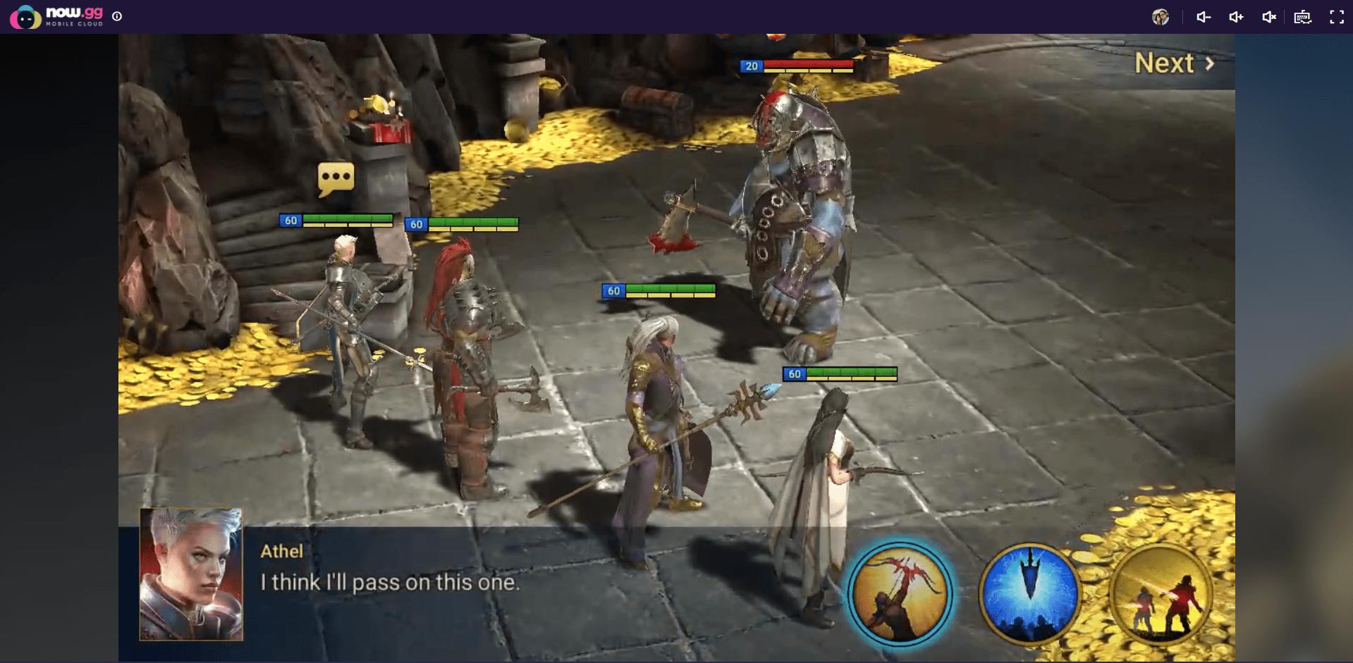 كيف تلعب RAID: Shadow Legends على السحابة باستخدام BlueStacks X
