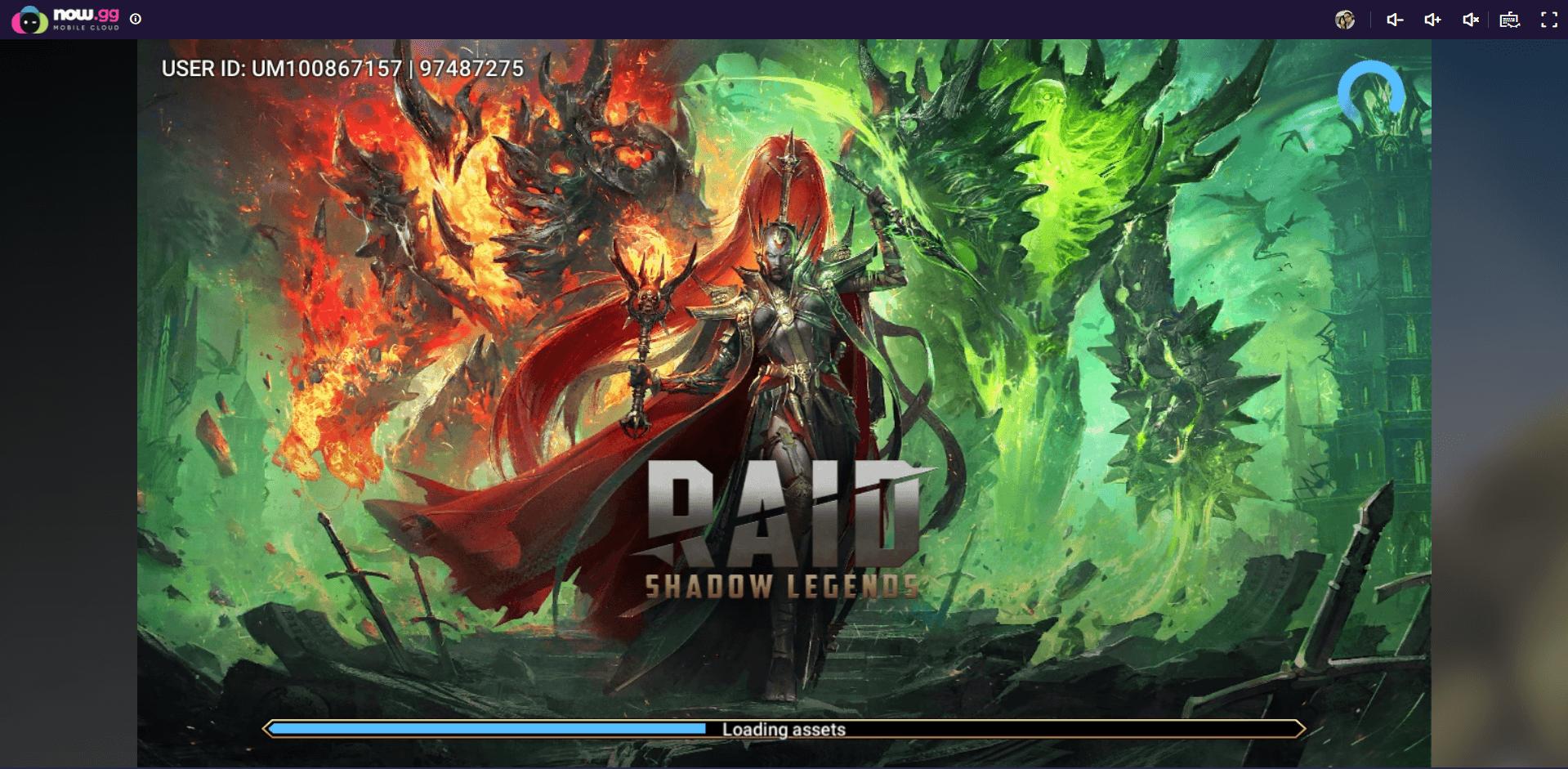 Comment Jouer à RAID: Shadow Legends depuis le Cloud avec BlueStacks X