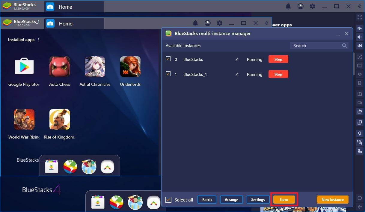 Farm Faster and Better with BlueStacks