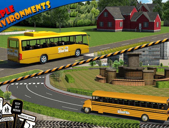 Play School bus Driver 3D on PC 16