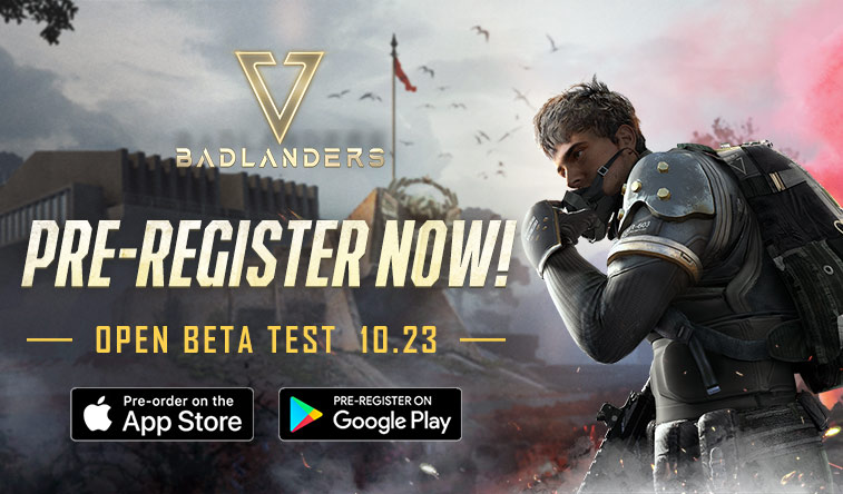 NetEase's New 'Badlanders' TPS Battle Royale Game Available for Pre-Registration and Entering Open Beta Soon