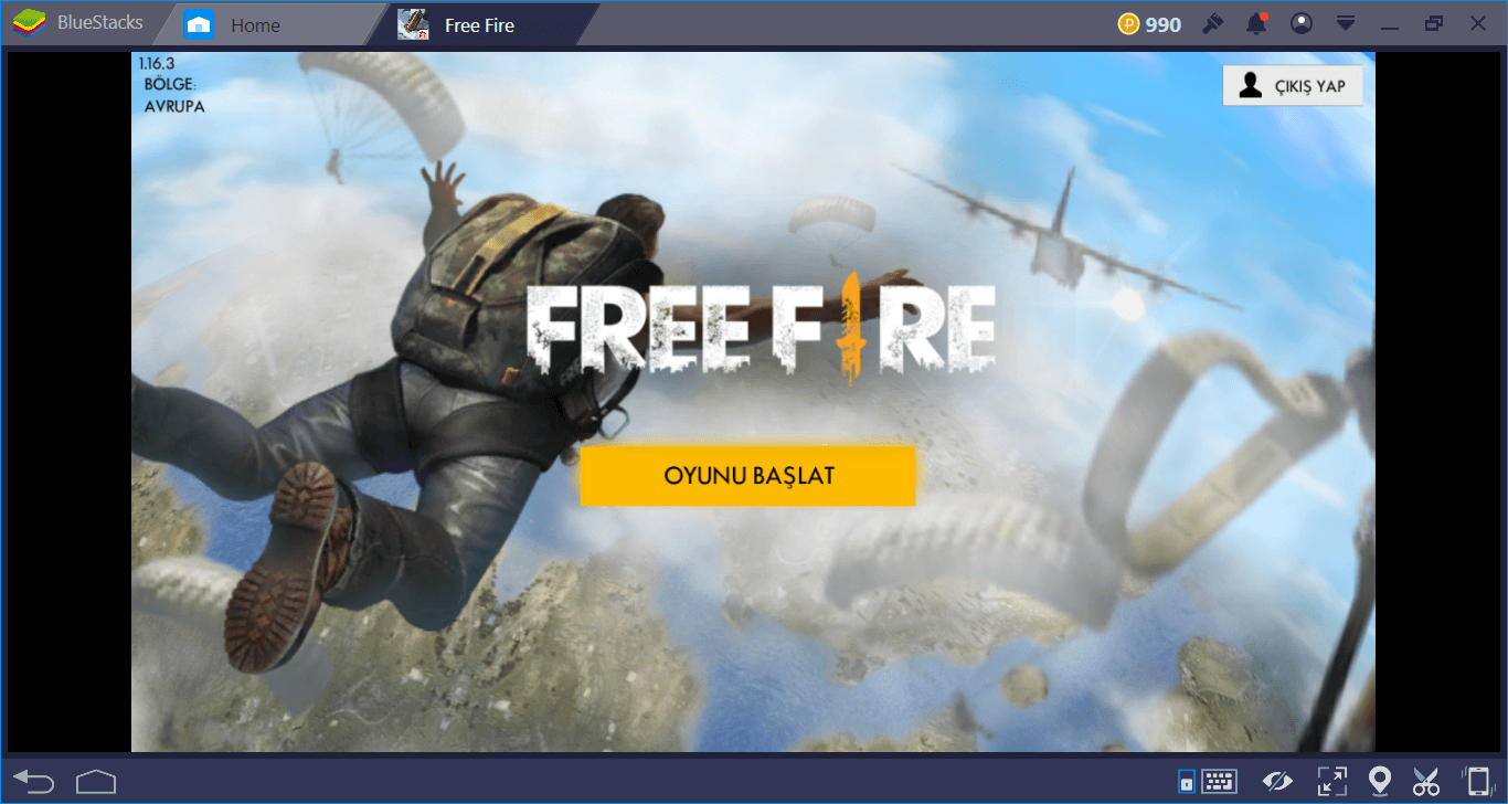 Free Fire:Battlegrounds Oyun Mekanikleri