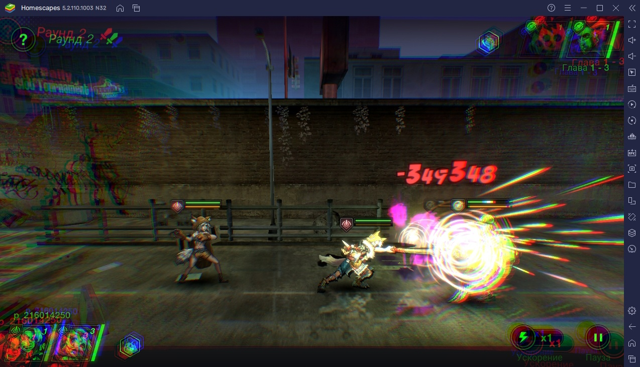 Battle Night: Cyberpunk-Idle RPG — Функции BlueStacks для легкой победы над врагами