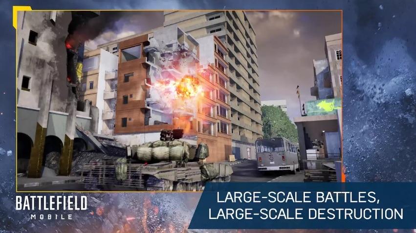 Battlefield Mobile появилась в Google Play Store