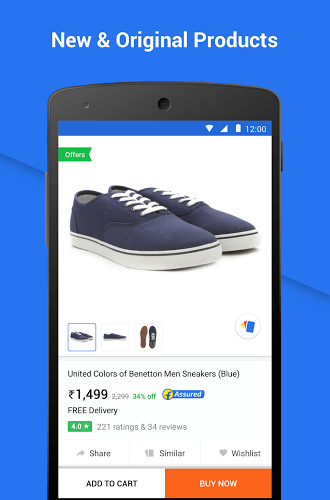 Play Flipkart app on PC 4