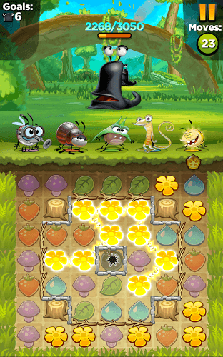 เล่น Best Fiends – Puzzle Adventure on PC 18
