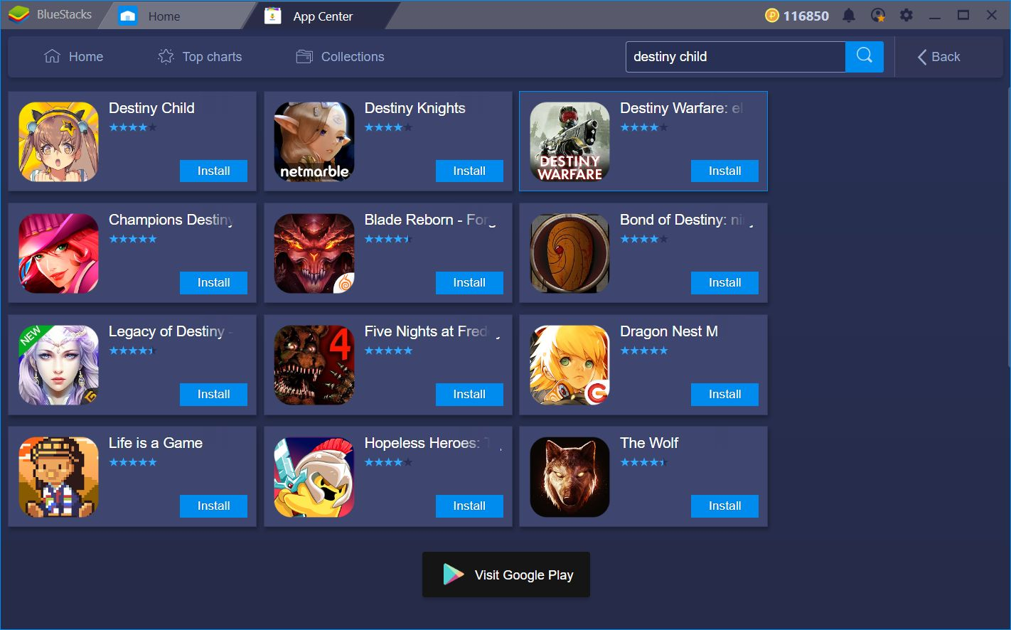 Make the most of Gacha Games on BlueStacks: Destiny Child