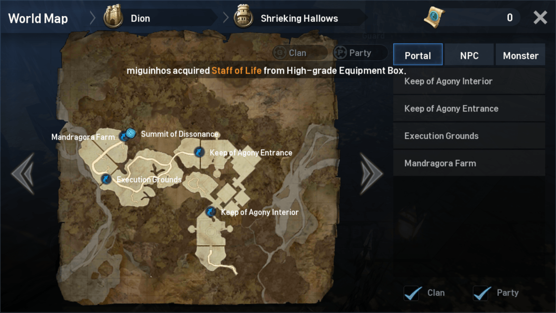 Lineage 2 Revolution Best Grinding Spots - 2