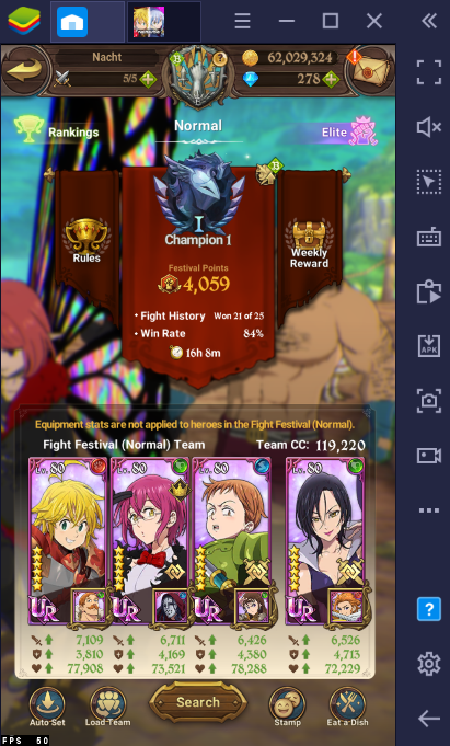 Best Teams to Use for PvP in The Seven Deadly Sins: Grand Cross