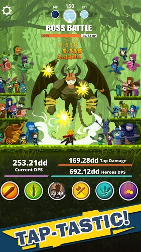 Play Tap Titans on PC 4