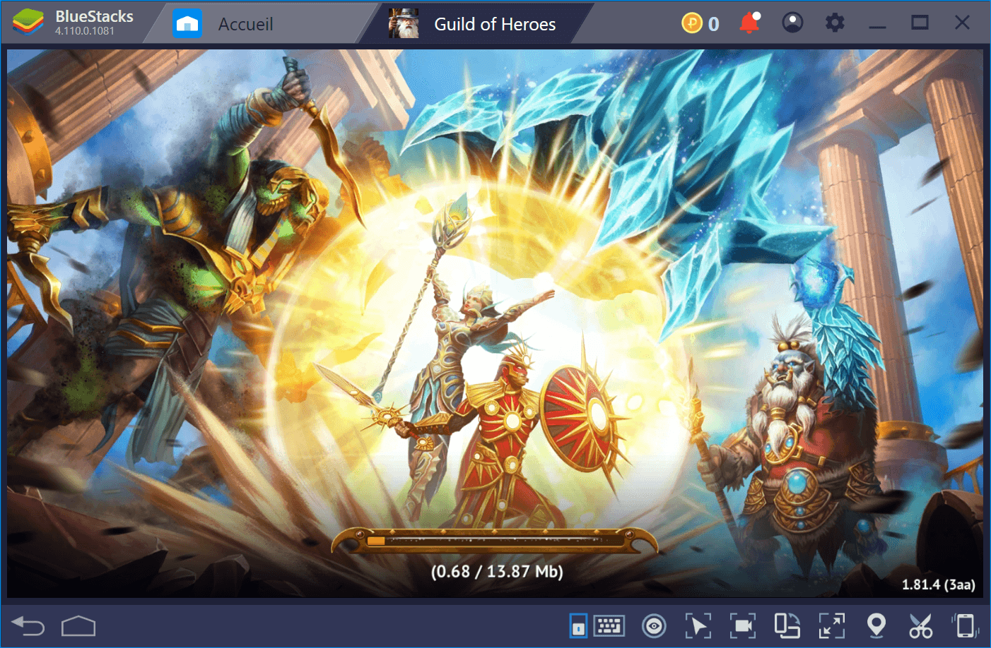 Bien débuter dans Guild of Heroes