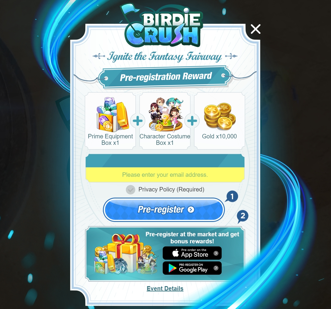 Pre Registrations are Now Open for Com2uS Birdie Crush: Fantasy Golf