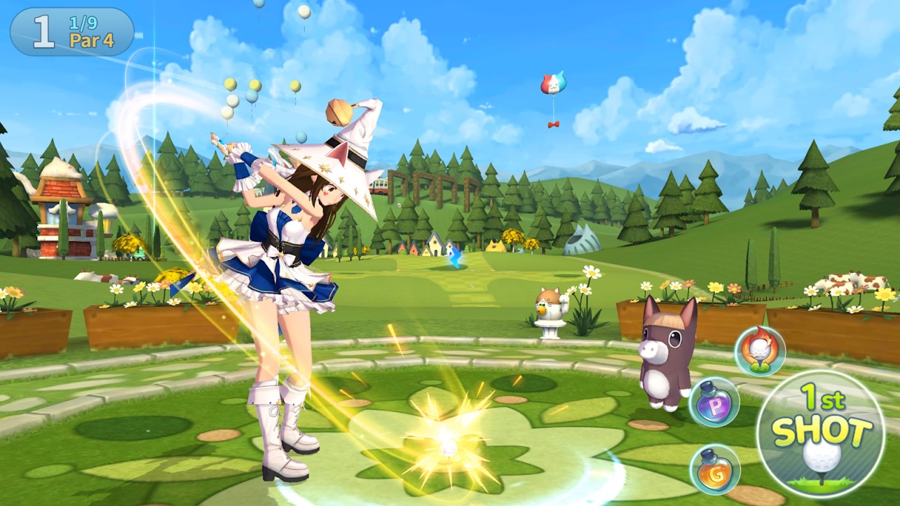 Com2uS Birdie Crush: Fantasy Golf Launching January 2021