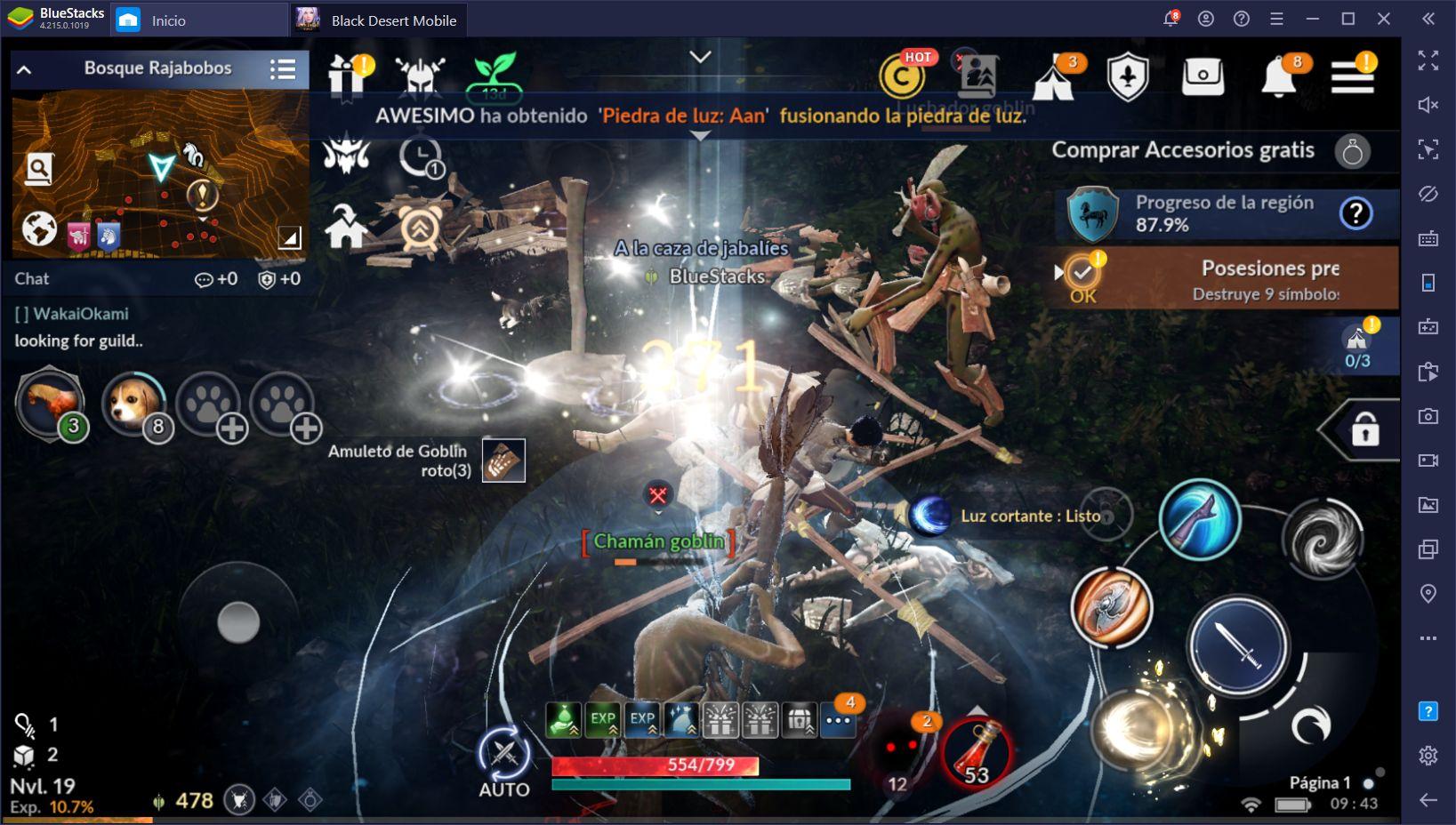 El Sistema de Despertar Llega a Black Desert Mobile en la Actualización Más Reciente