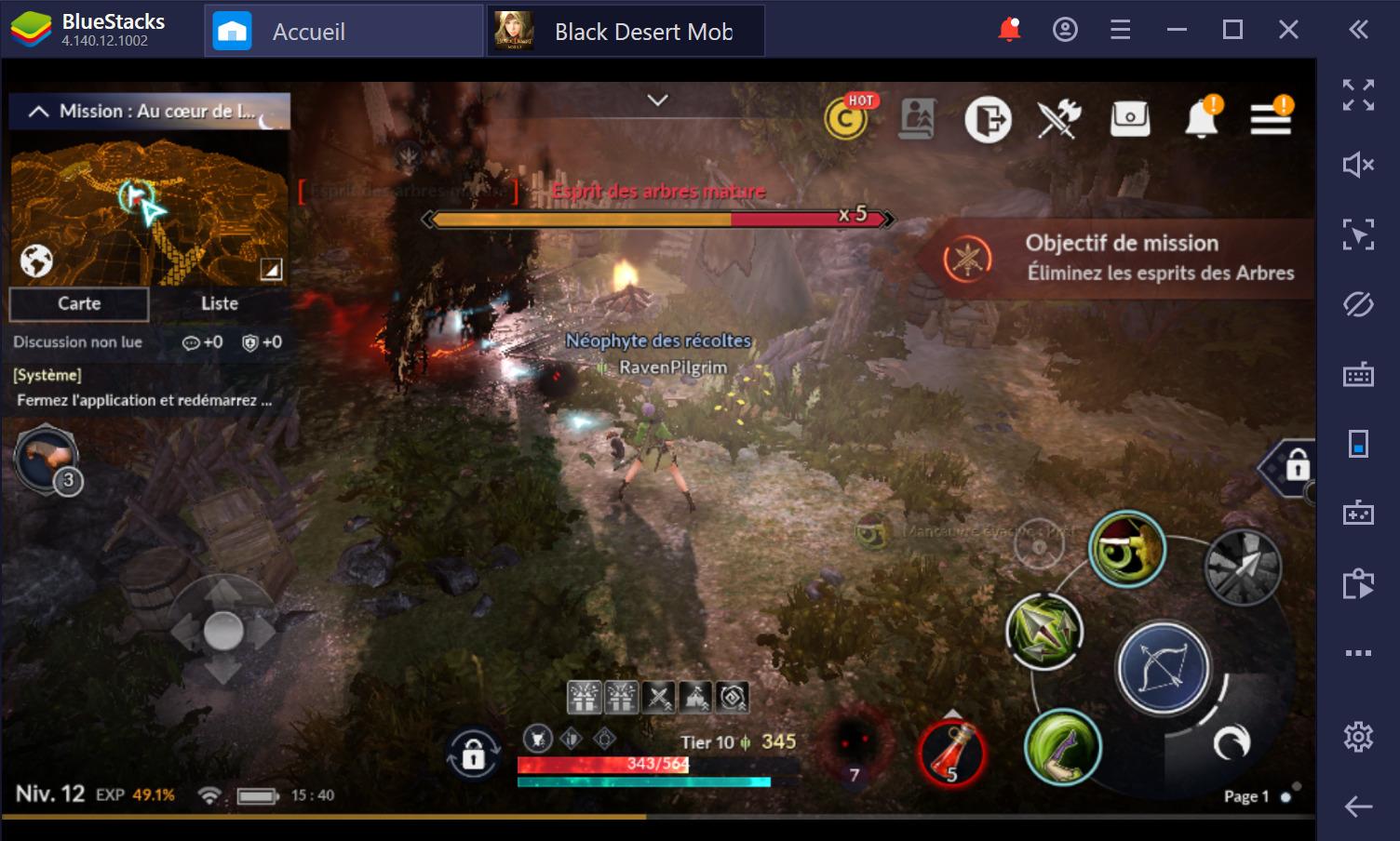 Black Desert Mobile sur PC : Guide des combats pour débutants