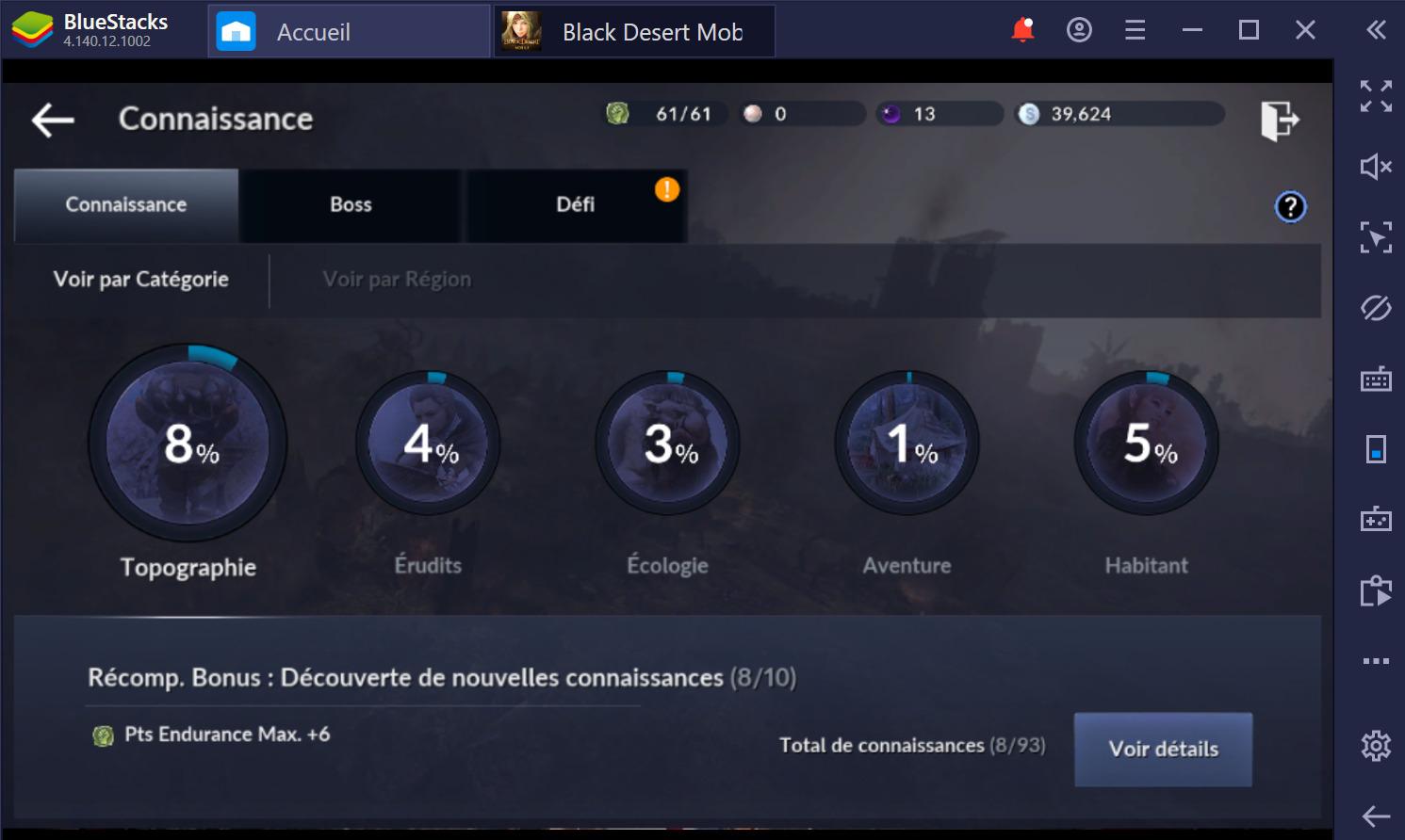 Black Desert Mobile sur PC : Les meilleurs trucs et astuces pour débutants