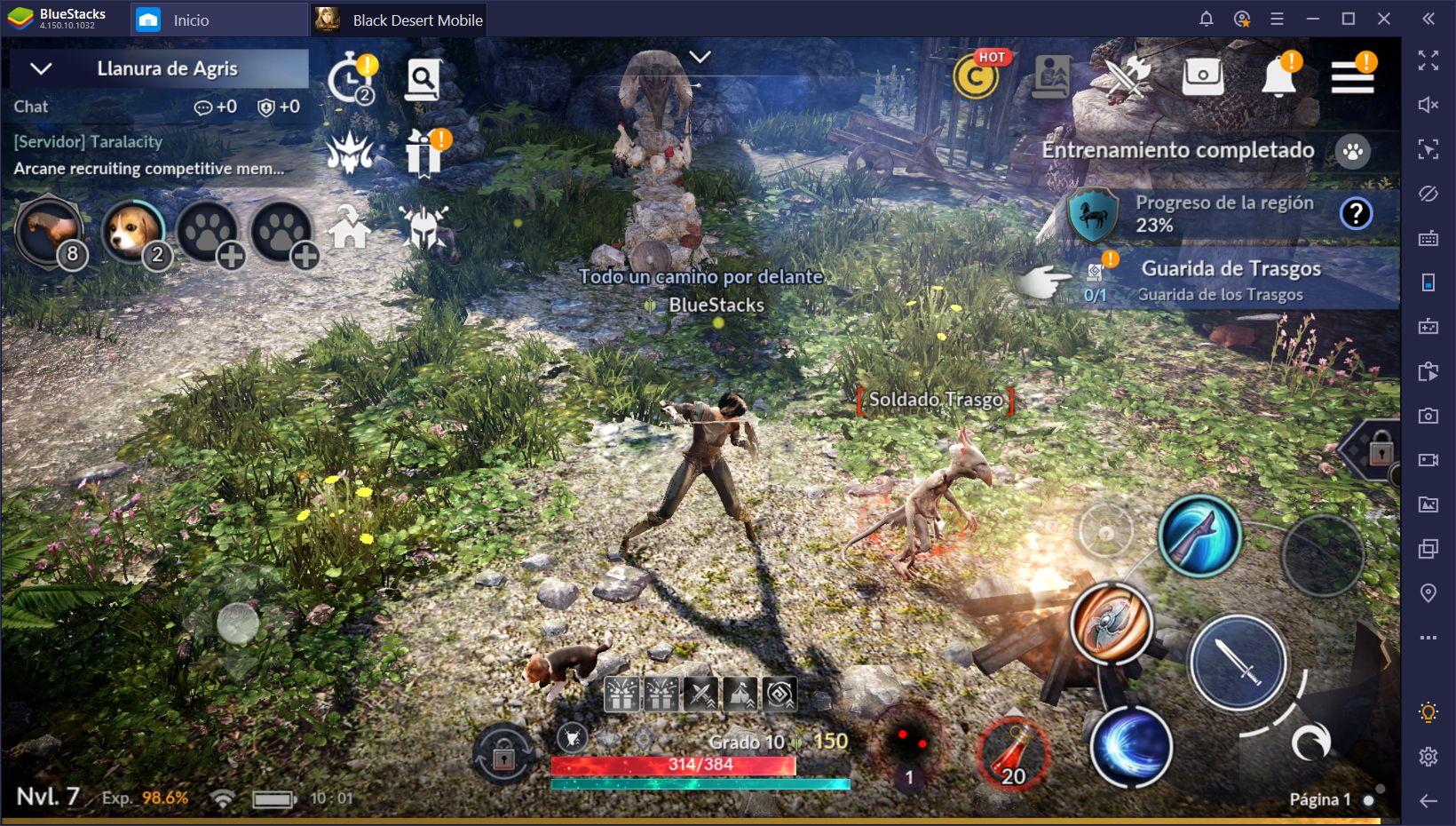 Guía de BlueStacks para Black Desert Mobile – Cómo Desatar el Full Potencial de Este MMORPG
