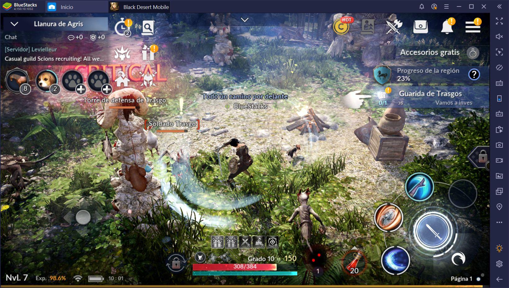 Guía de BlueStacks para Black Desert Mobile - Cómo Desatar el Full Potencial de Este MMORPG