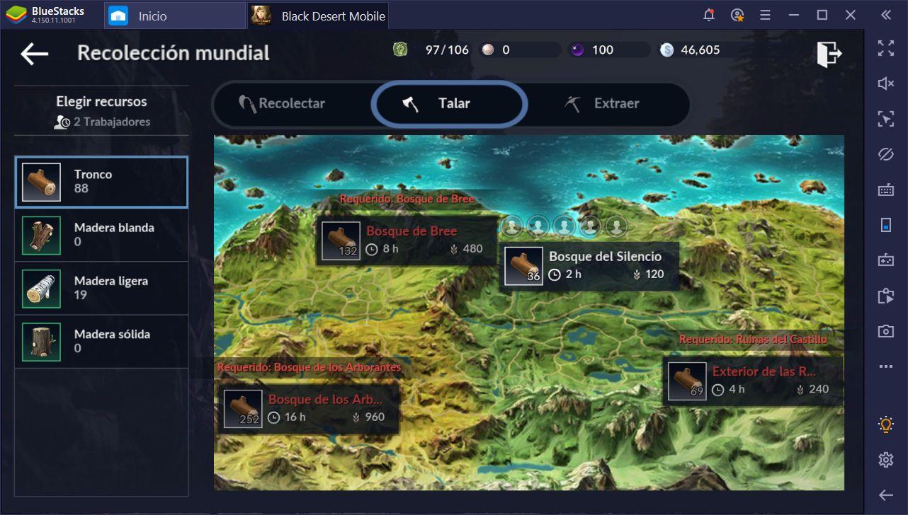 Black Desert Mobile en PC - Tódo Acerca de tu Campo