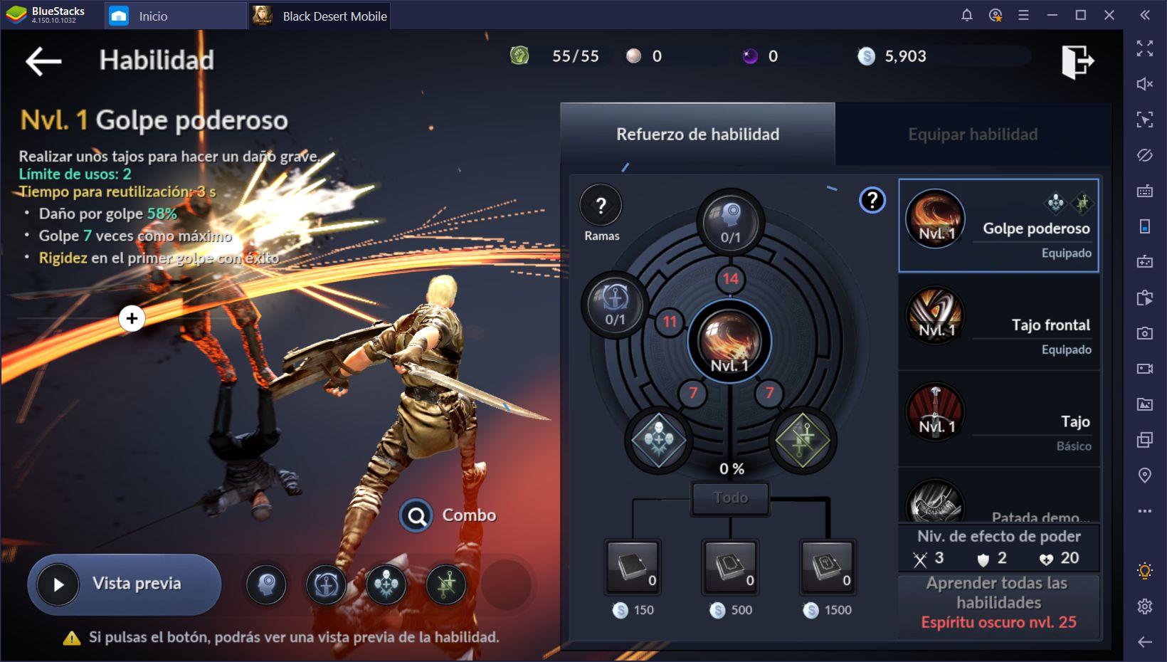 Black Desert Mobile en PC - Cómo Elegir la Clase Correcta
