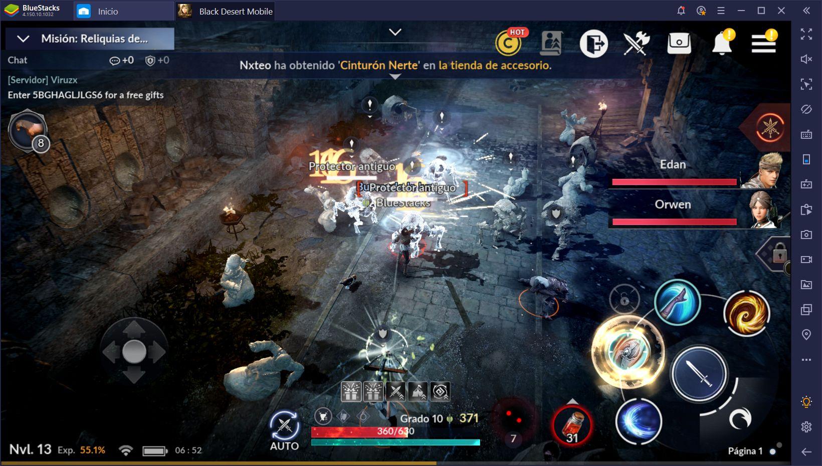 Black Desert Mobile en PC – Guía de Combate Para Principiantes