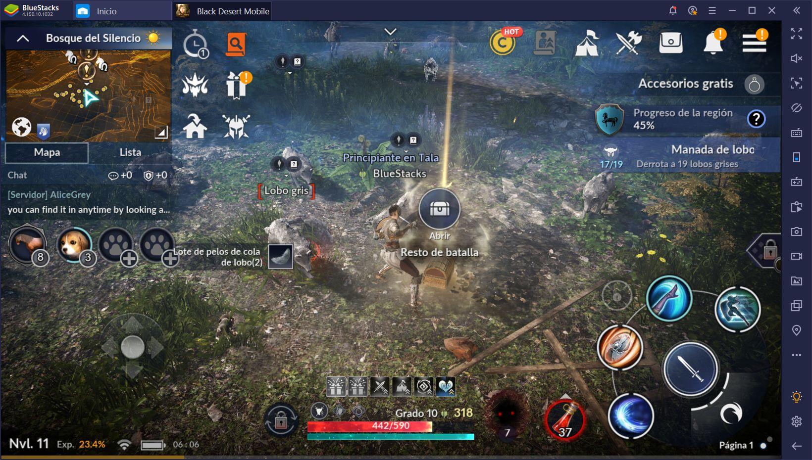 Black Desert Mobile en PC - Guía de Combate Para Principiantes
