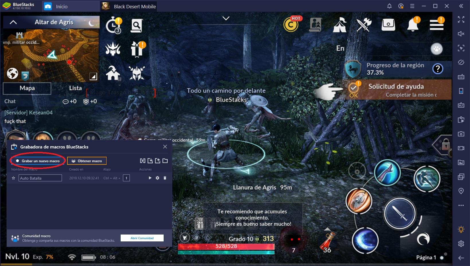 Cómo Subir de Nivel Rápido en Black Desert Mobile en PC