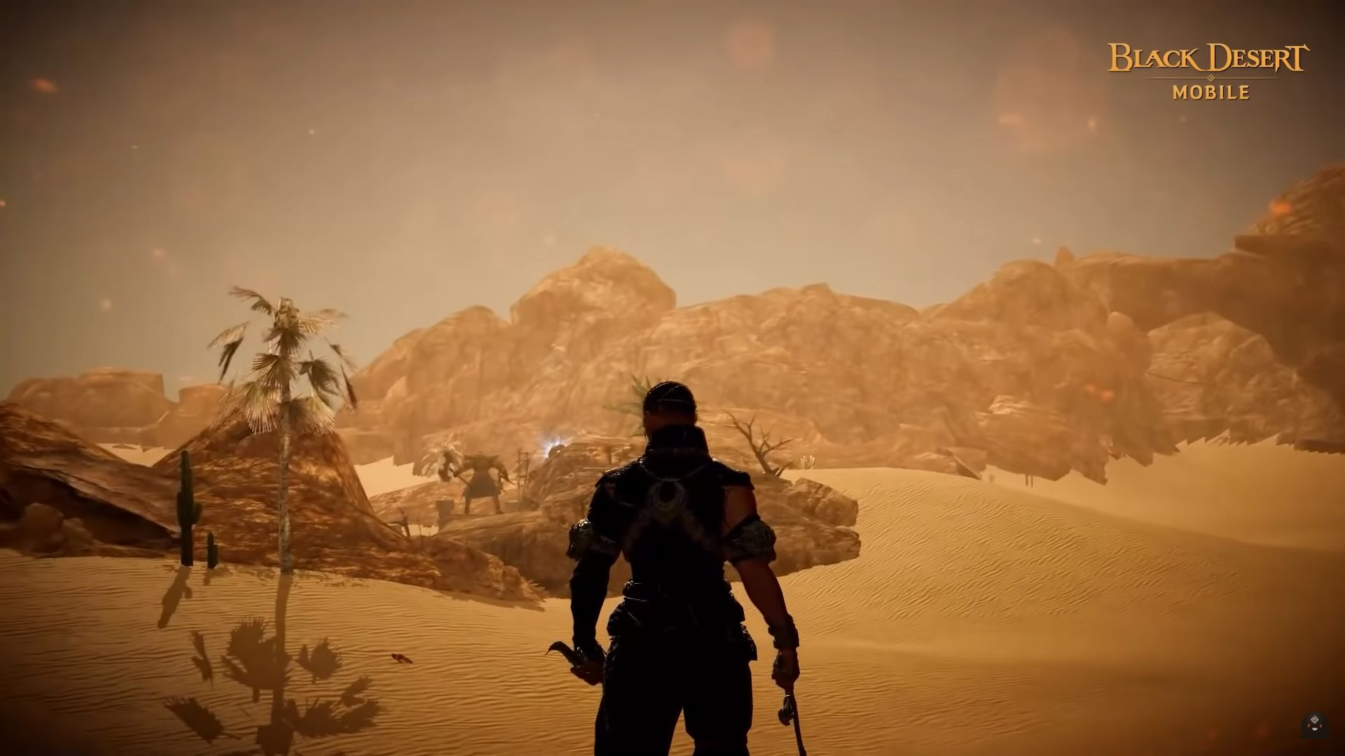Black Desert Mobile Great Desert Update Allows Players to Explore a Huge New Area