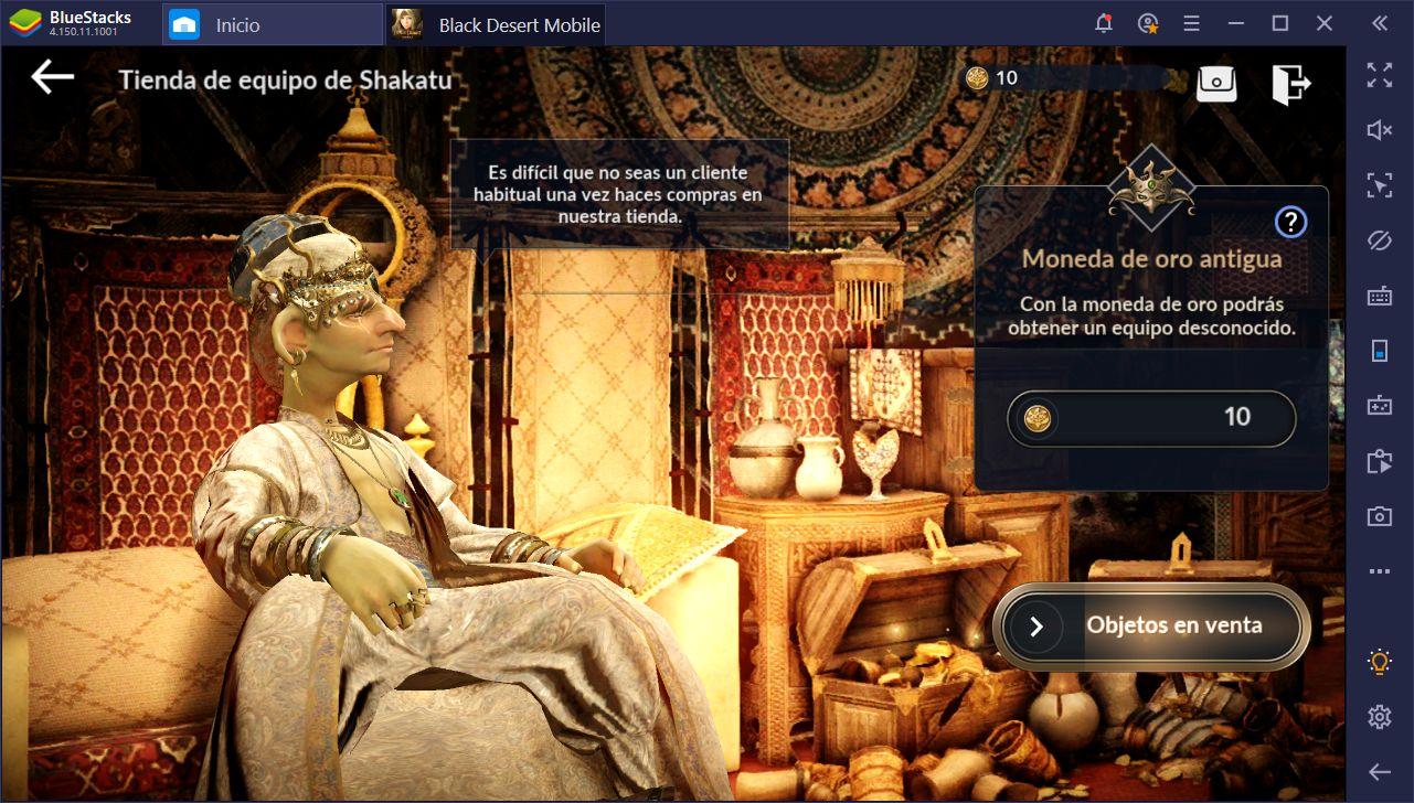 Black Desert Mobile en PC – La Guía Completa Para Mejorar a tus Personajes