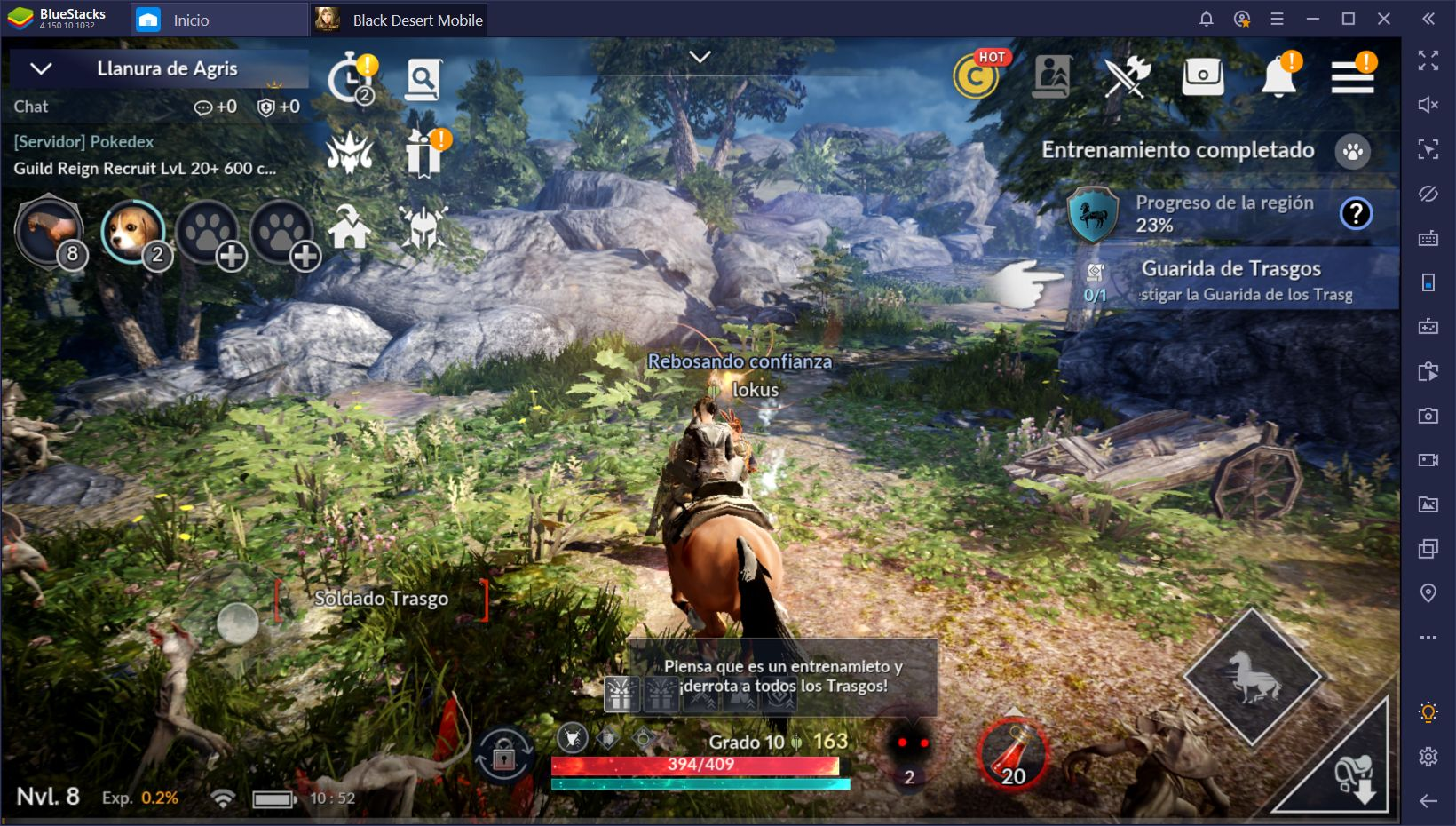 La revisión de BlueStacks 2019 para Black Desert Mobile