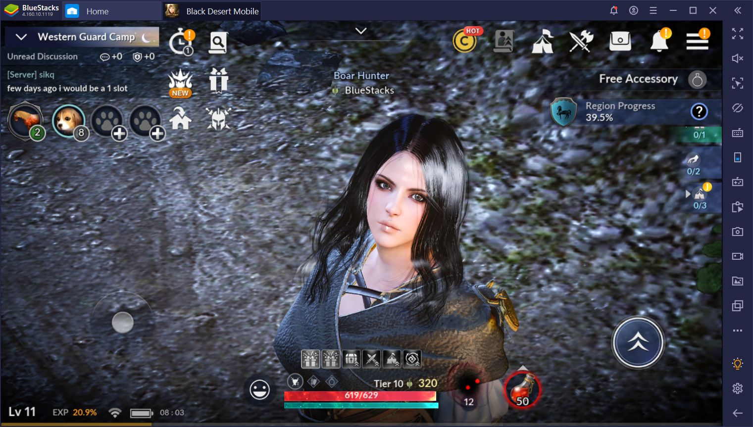 The New Sorceress Class in Black Desert Mobile on PC – First Impressions and Tips