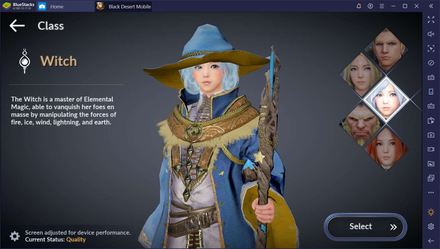 Black Desert Mobile on PC- What to Expect from the Sorceress Class