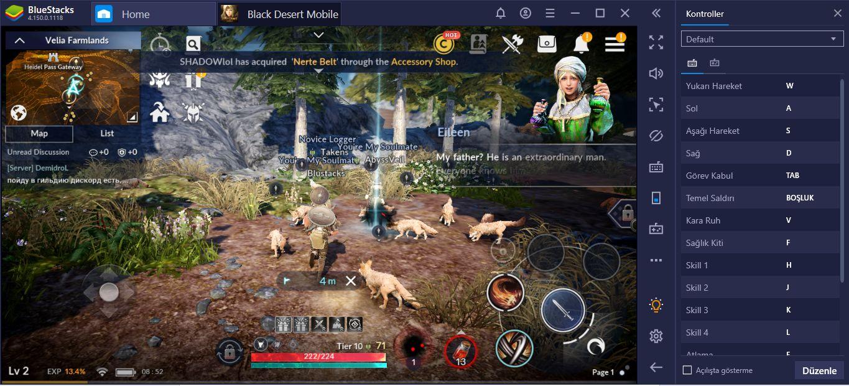 Black Desert Mobile Kurulum Rehberi: BlueStacks Avantajları İle Oynayın