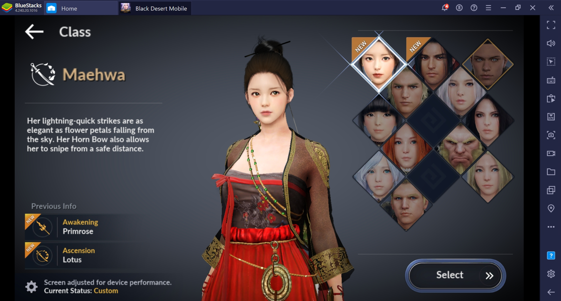 Black Desert Mobile Introduces 2 New Classes 'Musa' and 'Maewha'